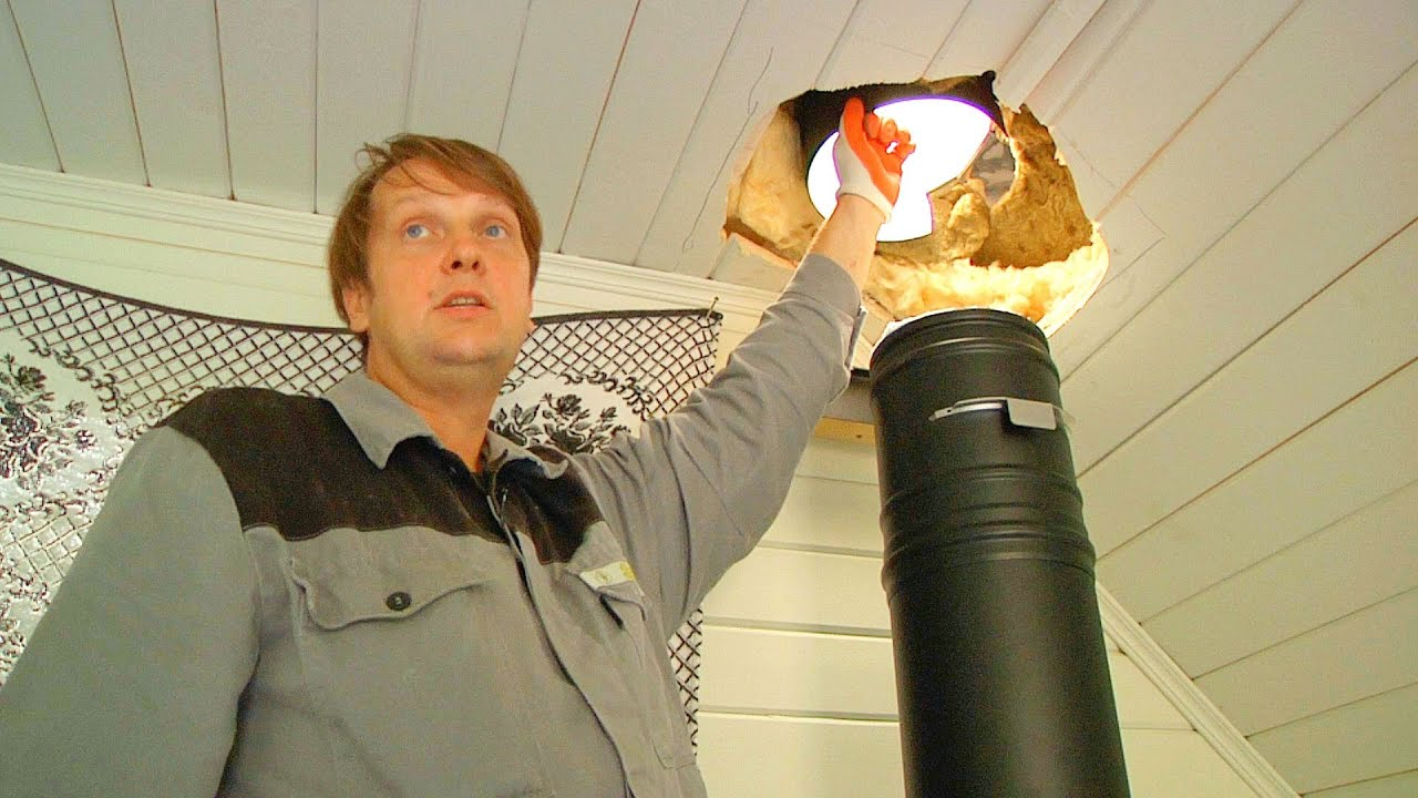 Установка печи и дымохода в дачный домик: продлеваем дачный сезон .
