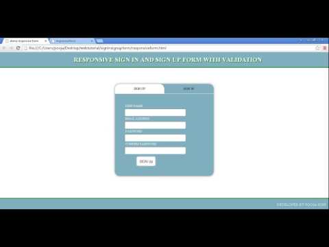 Code mysql download php registration in and validation with form