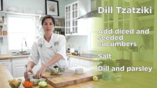 From Our Kitchen: Dill Tzatziki (healthy Mediterranean Yogurt Sauce)