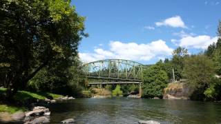 North Santiam River, Oregon - Mehama, Mill City, Big Cliff Dam, Detroit Dam, Detroit, Idanha