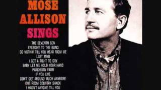 Watch Mose Allison Lost Mind video