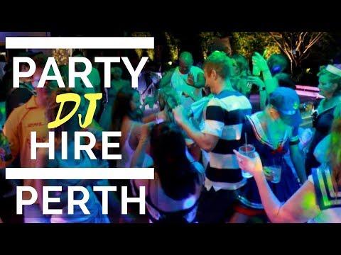 Party DJ Hire Perth 2018 Dean Anderson