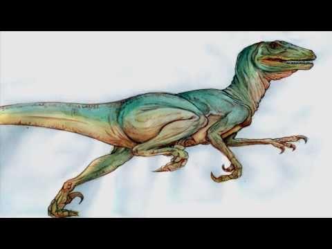 Ancient Reptile Tribute Seven: Deinonychus / Dromaeosaurid - Dinosaur.