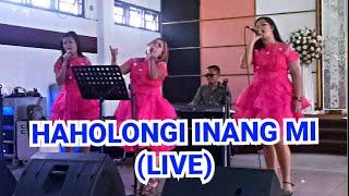 Haholongi Inang mi Romantis Trio Live wedding