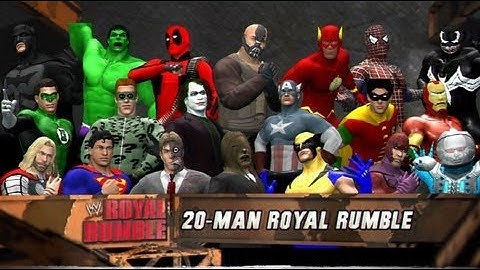 wwe 12  comic book royal rumble