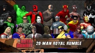 WWE 12 | Comic Book Royal Rumble