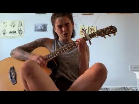 Hard to Explain by The Strokes except I forgot to breathe (Acoustic Cover)   Adel Ward