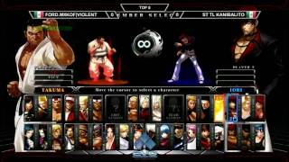 KOF XIII Side Tournament at EVO 2016 - Top 4