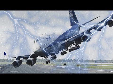 Worst Emergency Landing Ever By Drunk Pilot [XP11] - Видео онлайн