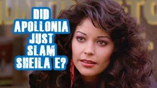 Did Apollonia just Slam Sheila E?