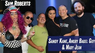 Sandy Kane, Angry Bagel Guy & Mary Jean in Studio - Jim Norton & Sam Roberts