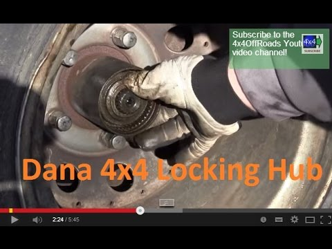Dana 44 locking hubs replacement YouTube
