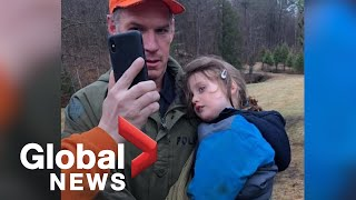 Officer who found toddler lost in Ontario woods calls him a \