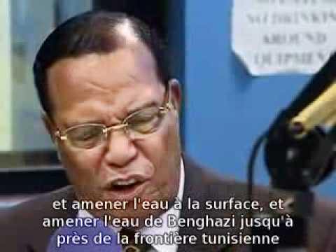 louis Farrakhan on libya Cause