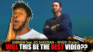 Eminem ft. Ed Sheeran River Trailer (REACTION)