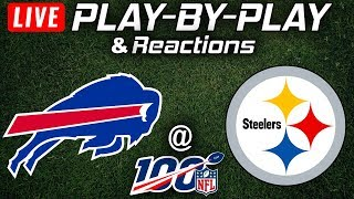 Bills vs Steelers   Live Play-By-Play & Reactions