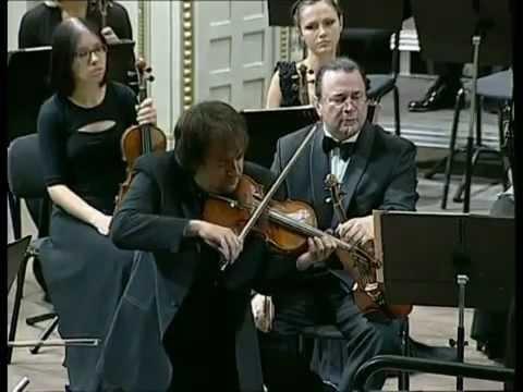 SERGEJ KRYLOV Mendelssohn violin concerto 1 mov.
