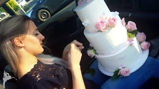 Rosanes Hochzeitstorten Making of - Behind the Scenes - Besprechung zur Hochzeitstorte - Kuchenfee