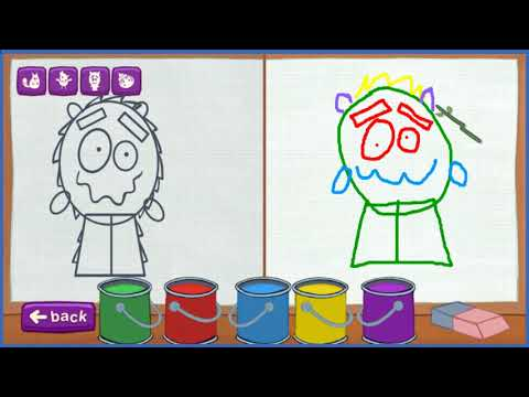 Learning Coloring | Paint A Long PEG - CAT | PBS KIDS - Games For Childrens