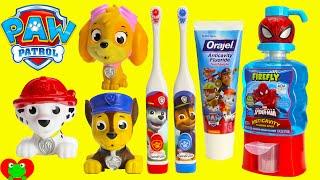 Paw Patrol Brush Teeth Surprises Shopkins Season 6