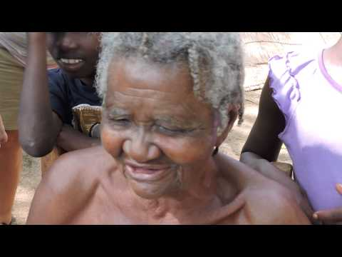 104 Year Old Haitian Woman Singing
