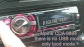 [DIAGRAM_4FR]  Alpine Deck Radio Head Unit Receiver CDA-9884 Used Decent Condition W Wiring  - YouTube | Alpine Cda 9884 Wiring Diagram |  | YouTube