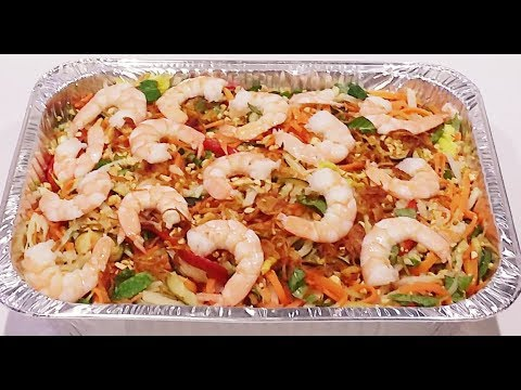 Gỏi Ngó Sen Tôm – New York / Shrimp, Lotus Stem & Vegetables Salad