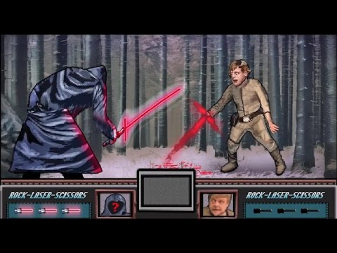Pixel Twins - Video Game Star Wars Episode VII Trailer - The 8 Bit Force Awakens