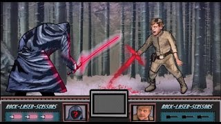 Pixel Twins - Video Game Star wars episode VII trailer - The 8 bit force awakens(Our facebook page : https://www.facebook.com/pages/Pixel-Twins/1506438496289233 If you like, please share and subscribe :) - The Pixel Twins Maybe star ..., 2014-12-05T16:57:33.000Z)