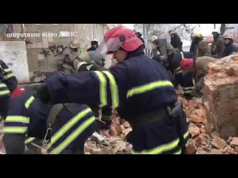 MNS GOV.UA: Ліквідація наслідків руйнування трьох поверхів житлового будинку у місті Фастів Київської області