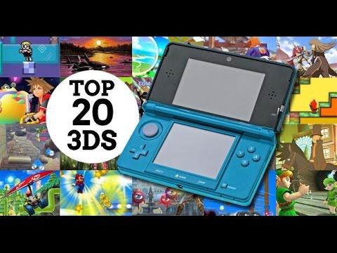 Los 20 Mejores Juegos De Nintendo 3ds Youtube