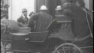 Leo Tolstoy / Лев Толстой - Кинохроника 1910 г. (HQ)