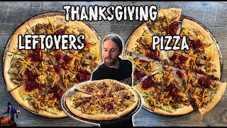 Thanksgiving Leftovers Pizza | The Vegan Zombie