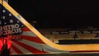 World First Frontflip Bikeflip BMX Nitro Circus Ryan Williams - France 2013
