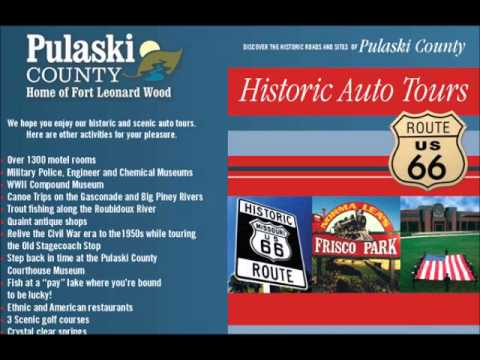 Route 66 Audio Tour - Pulaski County Missouri!