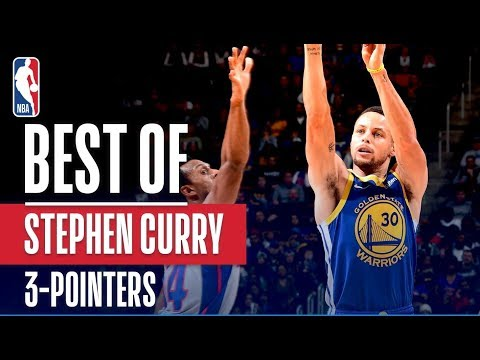 Stephen Curry's Best 3 Pointers From The 2018-19 NBA Season