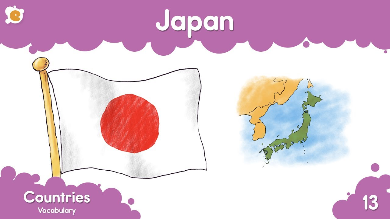Download Countries of the World - Nations Vocabulary for Kids