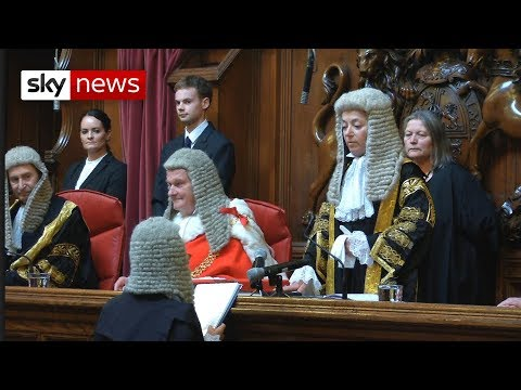 Royal Courts Of Justice: Dame Victoria Sharp's Swearing - In Ceremony