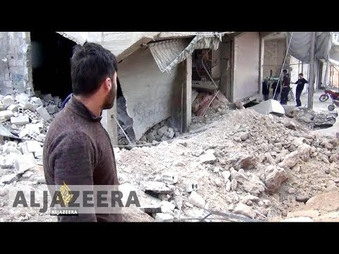 Air strikes kill dozens in Syria's besieged Eastern Ghouta