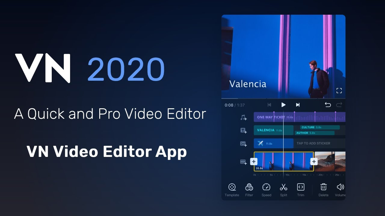 A Quick And Pro Video Editor丨vn Video Editor App Youtube