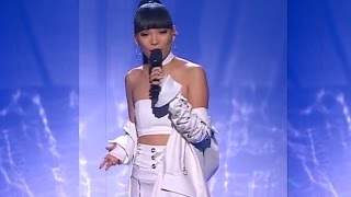 Dami Im LIVE on The x Factor - Fighting For Love & TOP7 Sound of Silence