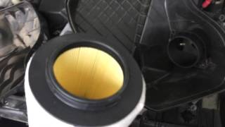 Замена воздушного фильтра на BMW 118I копеечка