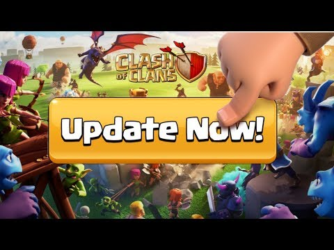 Clash Of Clans Update : Summer Update Is Now Available Update It Now | Coc Live