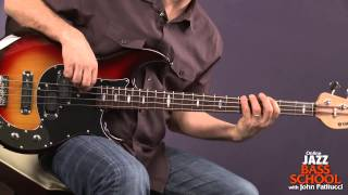 Bass Guitar Lessons with John Patitucci: Play Along Samba (Fast)