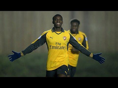 Arsenal's best academy goals of 2016/17