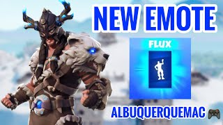 "* NEW DANCE * ""FLOW"" FORTNITE-NEW SKIN FYRA and NEW SKIN JAEGER-SHOP OF ITEMS FORTNITE TODAY 18/01/19"