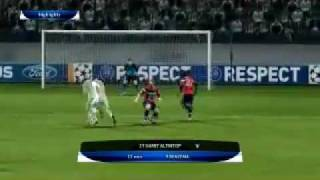 PES 12 PC -1st Half Gameplay with English Commentator