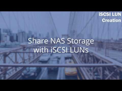 QNP 304 - Create An ISCSI LUN On Your QNAP NAS