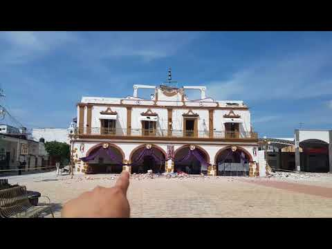 Terrible SISMO en Jojutla Morelos Terremoto Debasto la Presidencia Municipal