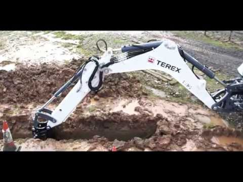 Terex® TLB840R Backhoe: Rugged, Economical, Rental Tough